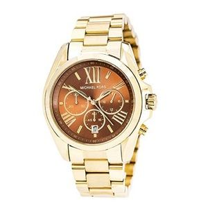 Michaels Kors MK5502 Bradshaw Gold Watch